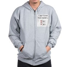 Unique Texas hold em Zip Hoodie