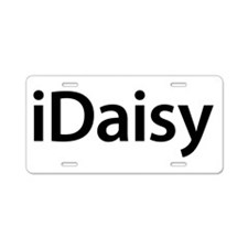 iDaisy Aluminum License Plate