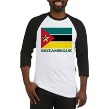 Flag of Mozambique Baseball Jersey