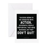 5x7 blank Note Cards (Pk of 10) - SUCCESS