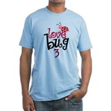 Love Bug Custom Number Shirt