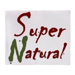 SuperNatural Rush Throw Blanket