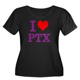I Love PTX Plus Size T-Shirt