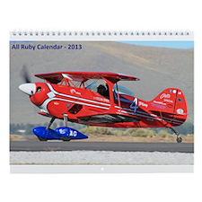 All Ruby Wall Calendar