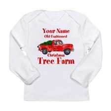 Custom Tree Farm Long Sleeve Infant T-Shirt