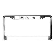iMalcolm License Plate Frame