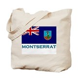 Flag of Montserrat Tote Bag