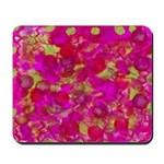 Mousepad-abstract pink painting
