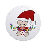 Baby Elf Ornament (Round)