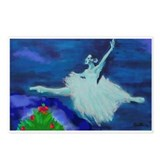 holiday grand jete Postcards (Package of 8)