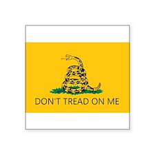 Don't Tread On Me (Gadsden Flag) Sticker (Rectangu