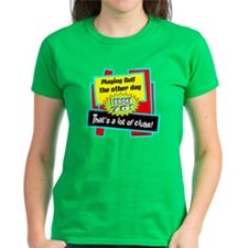 A Lot Of Clubs-Henny Youngman/t-shirt Tee