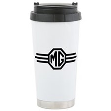 Winged MG Logo Ceramic Travel Mug