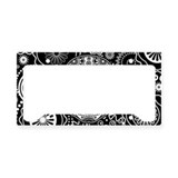 Cool Rockabilly License Plate Holder