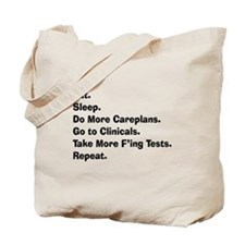 Atlas of a student nurse brain LIGHTS.PNG Tote Bag