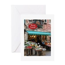 Cute Storefronts Greeting Card