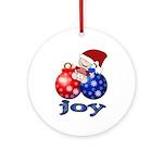 Baby Joy Holiday Ornament (Round)