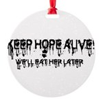 keep hope alive Round Ornament