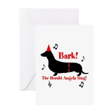 Bark! The Herald Angels Sing Greeting Card