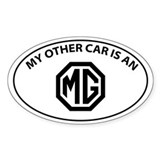 Cute Mg Decal
