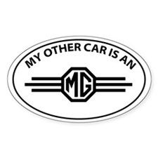 My Other Car is an MG - Wings Logo Decal