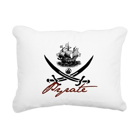 pirate1-light.png Rectangular Canvas Pillow
