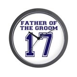 Father of the Groom '07 Wall Clock
