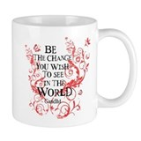 Be the Change - Red Vine Small Mugs