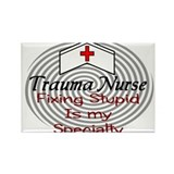 Cute Registered nurse Rectangle Magnet