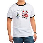 santa - mrs GREETING CARDS copy T-Shirt