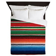 Mexican Serape Queen Duvet