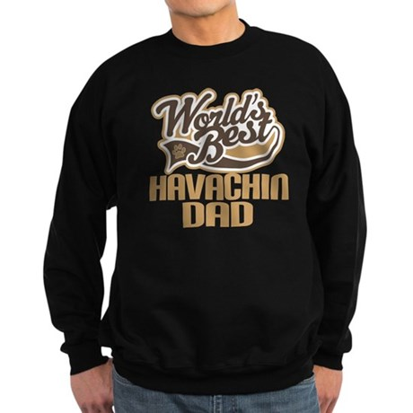 Havachin Dog Dad Sweatshirt (dark)