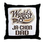 Ja-Chon Dog Dad Throw Pillow