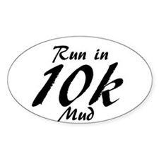 Run in 10k Decal