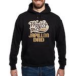 Japillon Dog Dad Hoodie (dark)