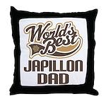 Japillon Dog Dad Throw Pillow
