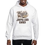 Japillon Dog Dad Hooded Sweatshirt