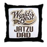 Jatzu Dog Dad Throw Pillow
