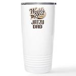 Jatzu Dog Dad Ceramic Travel Mug