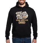 Kerry Wheaten Dog Dad Hoodie (dark)