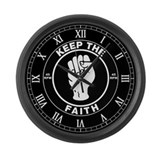 krrpthrfsaithclockbw.png Large Wall Clock