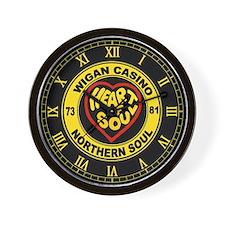 wiganclockyellow2.png Wall Clock