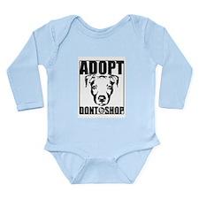Adopt, Don't Shop Long Sleeve Infant Bodysuit