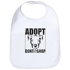 Adopt, Don't Shop Bib