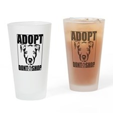 Adopt, Don't Shop Drinking Glass