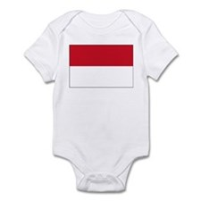 Monaco Flag Picture Infant Bodysuit