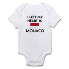 I Left My Heart In Monaco Infant Bodysuit