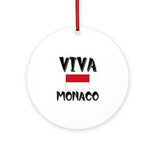 Viva Monaco Ornament (Round)
