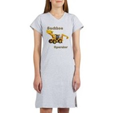 Backhoe Women's Nightshirt