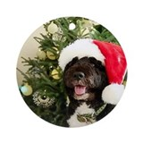 Bo the Dog Ornament (Round)